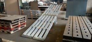 Производство алюминиевых аппарелей