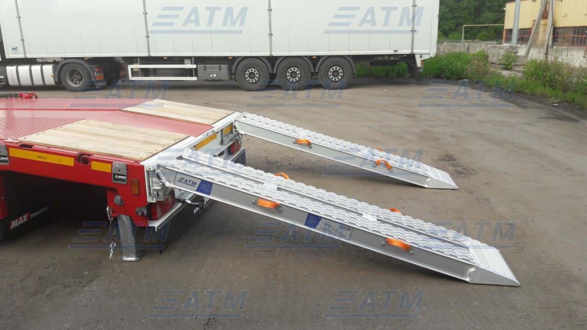 Алюминиевые аппарели для заезда техники  АТМ Групп