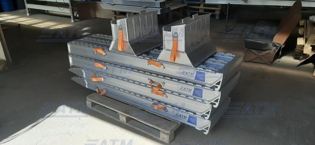 Алюминиевая аппарель № 14.4400.50.06