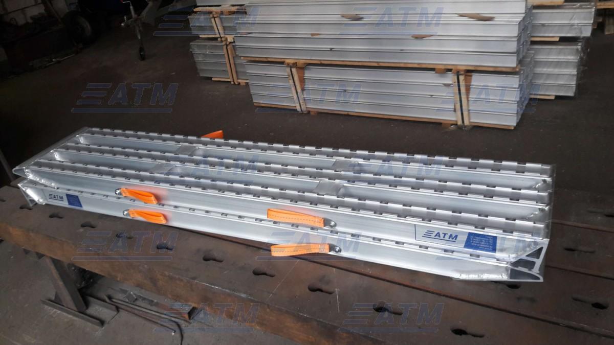 Алюминиевая аппарель № 10.290.50.06