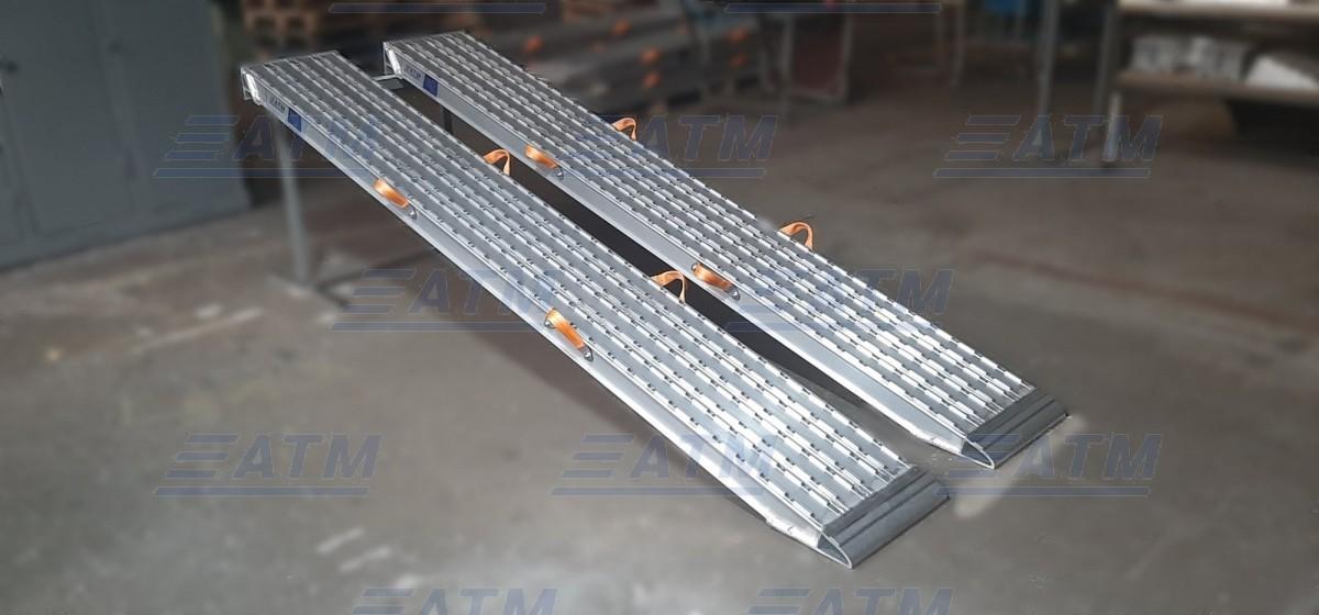 Алюминиевая аппарель № 10.290.40.08